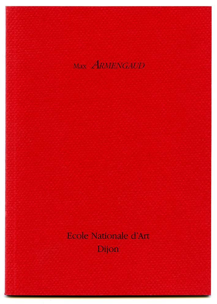 01 catalogue École nationale d'art de Dijon 1992