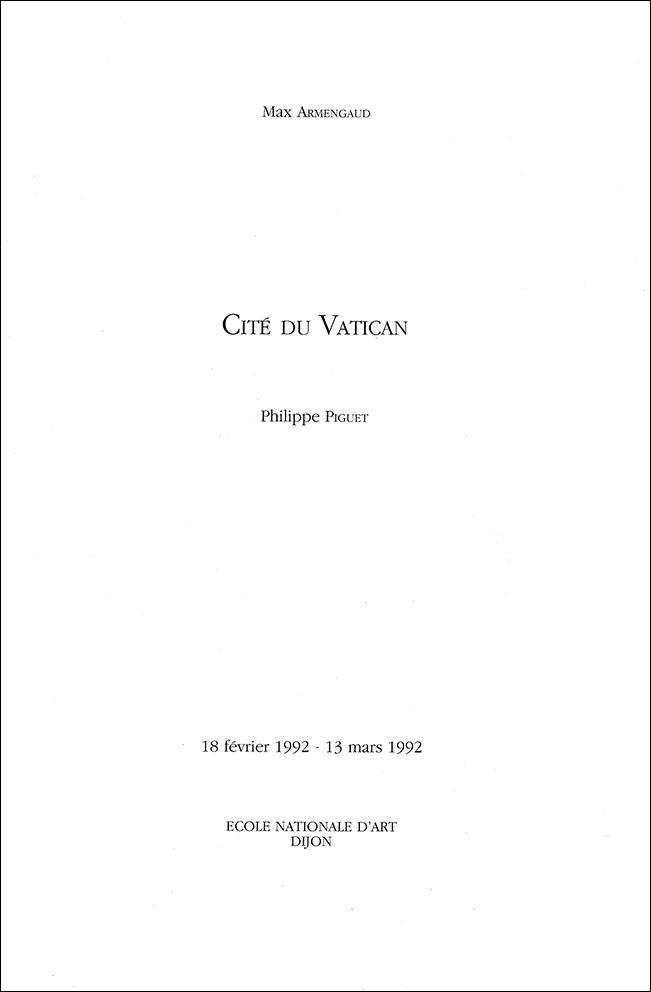 02 intro catalogue Dijon 1992