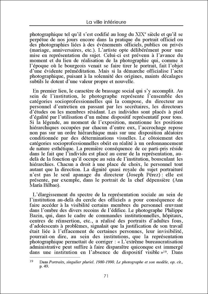 Nancy Berthier La ville intérieure 24 mai 2003 9