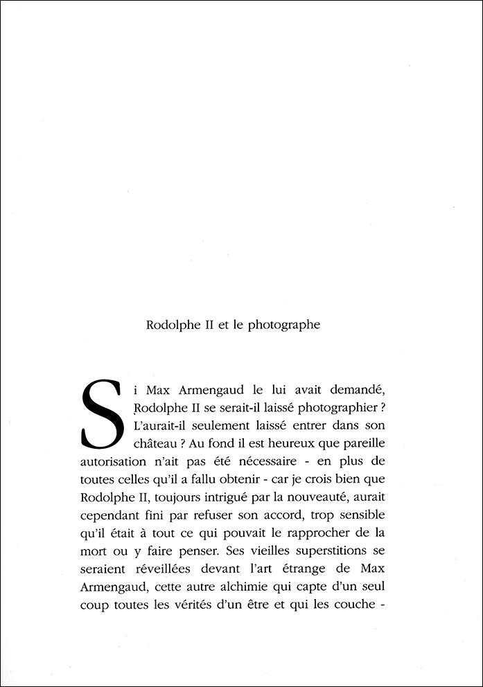 Rodolphe II et le photographe 1